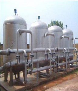 Máy lọc nước giếng khoan gia đình giúp loại bỏ hoàn toàn các chất độc hại giúp nước trong sạch, tinh khiết