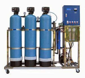 Hệ thống lọc nước sinh hoạt công suất lớn sử dụng cột lọc Composite siêu bền