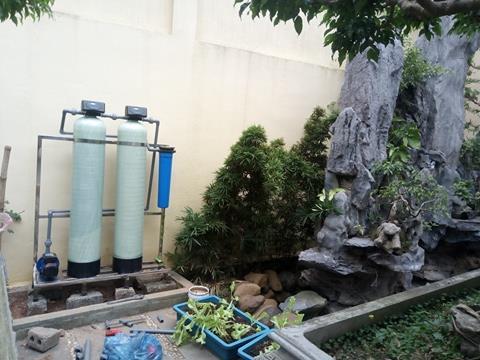 Hệ thống lọc nước sinh hoạt cho ao cá Hbtech được ứng dụng khá rộng rãi