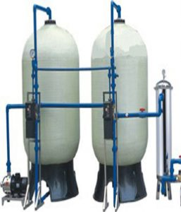 Máy lọc nước giếng khoan công nghiệp Hbtech được thiết kế gọn, không chiếm nhiều diện tích