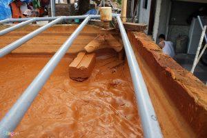 Khu tái định cư Dọc Bún (tổ 5, phường La Khê, Hà Đông) đang phải sử dụng nước giếng khoan ô nhiễm nặng