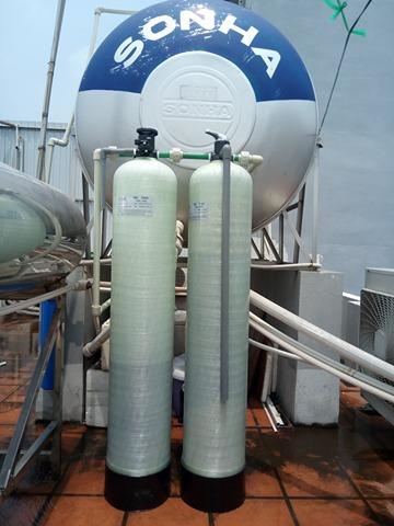 Hệ thống xử lý nước DN02 công suất 1m3/h được lắp đặt tại 23 Phạm Tuấn Tài –Cầu Giấy - Hà Nội