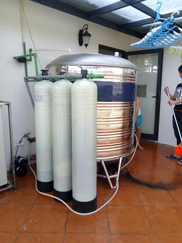 Máy lọc nước sinh hoạt do công ty HBTECH lắp đặt