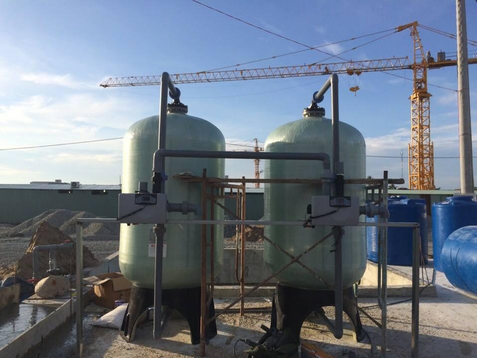 Hệ Thống lọc Nước sinh hoạt công nghiệp công suất 10m3/h Tại Thanh Hóa