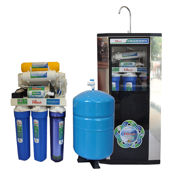 Máy lọc nước RO là máy lọc nước sử dụng nguyên tắc thẩm thấu ngược RO