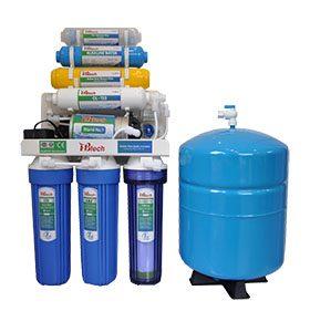 Có 2 công nghệ lọc nước chính đó là công nghệ Nano và RO