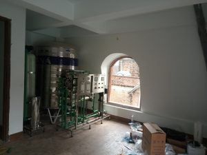 Hệ thống lọc nước sinh hoạt RO biệt thự Hbtech