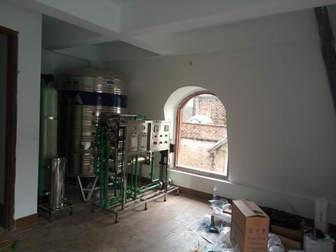 Hệ thống máy lọc nước tinh khiết (nước uống trực tiếp) cho gia đình tại số 4 BT1 KĐT Pháp Vân