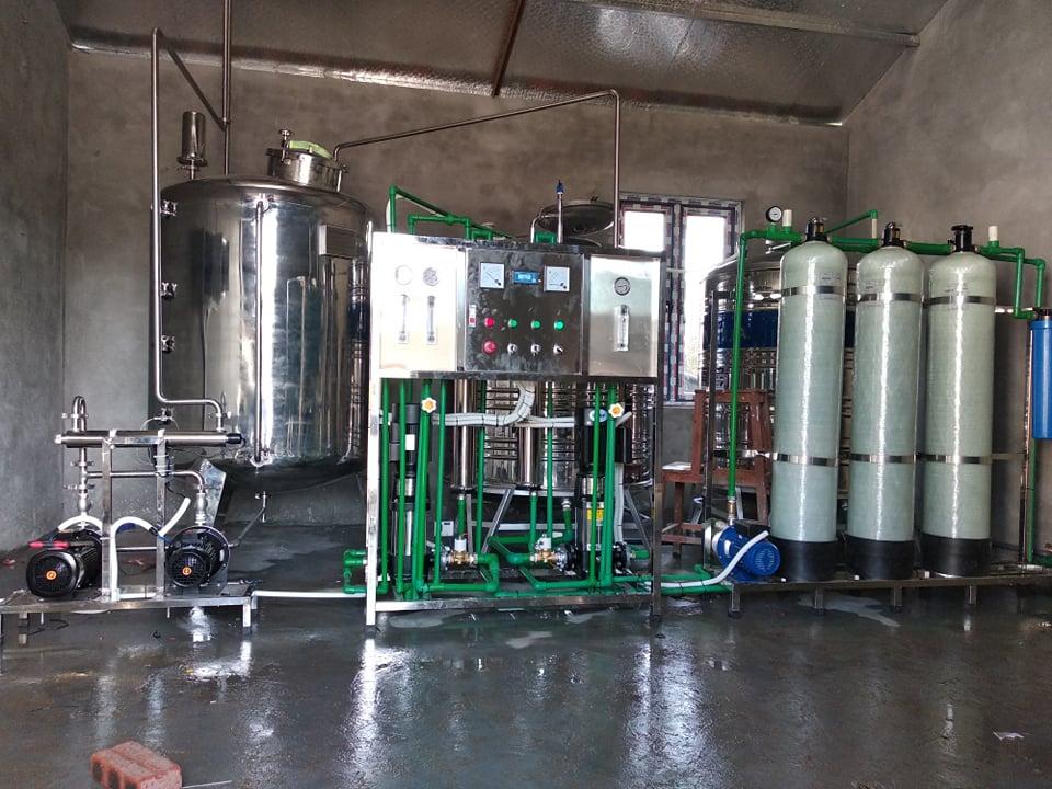 Hệ thống lọc nước công nghiệp Lắp đặt tai nhà máy sản xuất thuốc trị bỏng Sinh Hậu – tam dương, vĩnh phúc