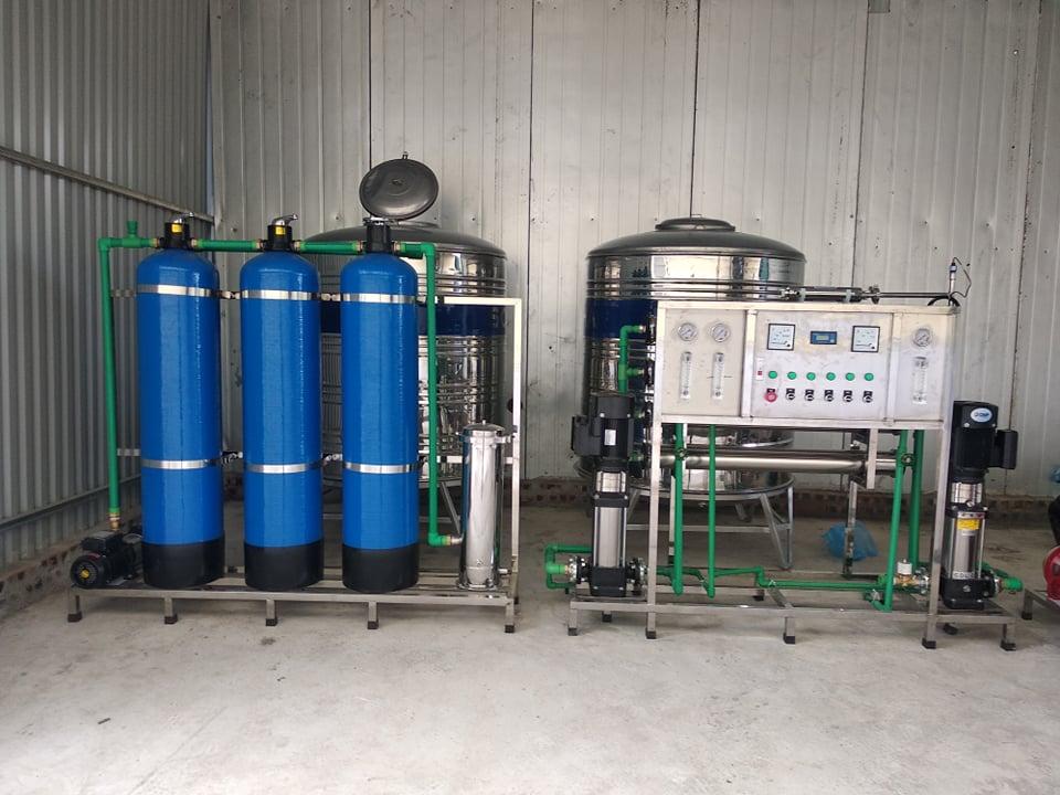Hệ thống lọc nước công nghiệp Lắp đặt tai Công ty cổ phần dược phẩm VGAS – thường tín, HN