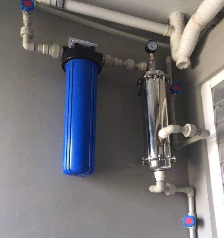 hệ thống lọc nước tổng cho căn hộ chung cư