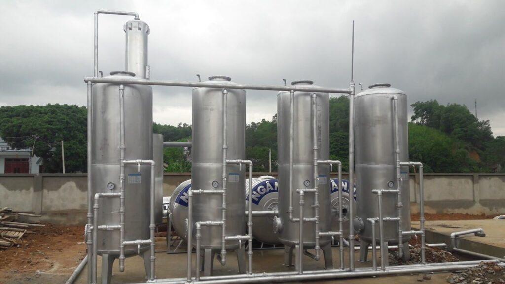 Hệ thống lọc nước giếng khoan 30 m3/h