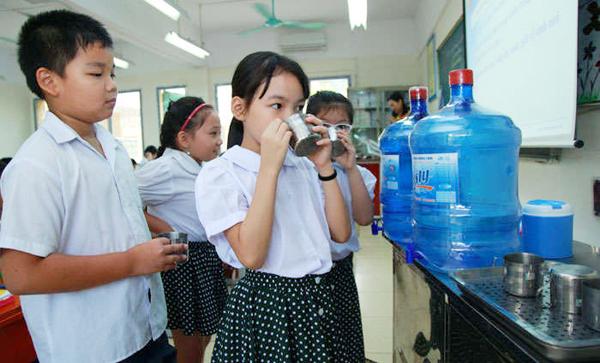 hệ thống lọc nước cho trường học 1