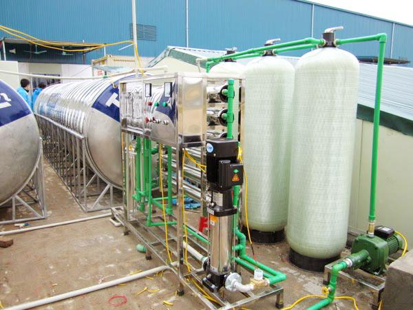 hệ thống lọc nước cho trường học 2